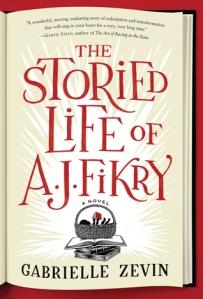 Storied Life of A.J. Fikry Gabrielle Zevin